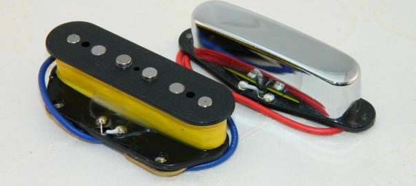 Ironstone Telecasters Pickups Alnico V & III