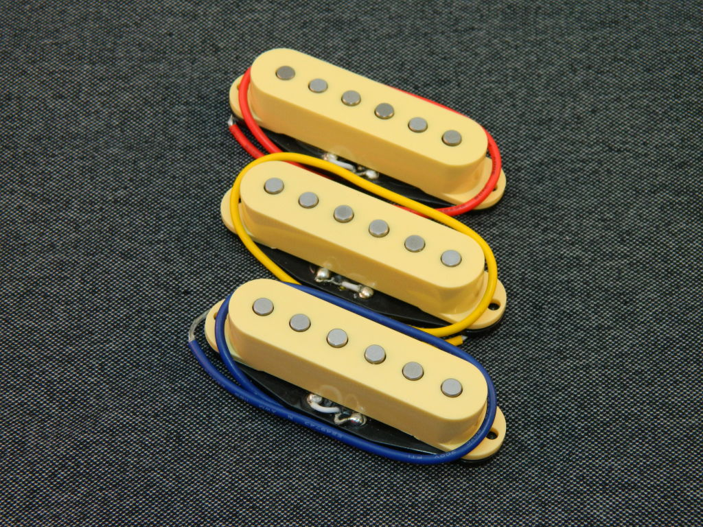 Vintage Strat Pickups Silver Ironstone Electric Guitar Kent Armstrong Pickup Neck Wiring Diagram Sound Clips