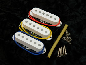 Ironstone Stratocaster Pickups Platinum Alnico V