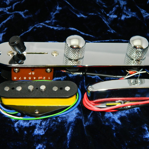 Telecaster 5 Way Control Plate
