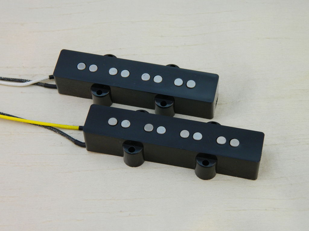 Ironstone Jazz Bass Pickups Alnico V