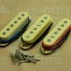 Ironstone Strat Pickups Gold Alnico V