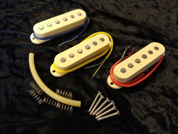 Ironstone Strat Pickups Platinum
