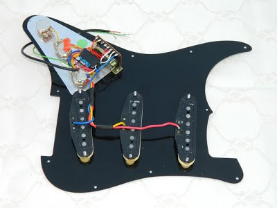 Gilmour Scratchplate Pickguard Ironstone Electric Guitar