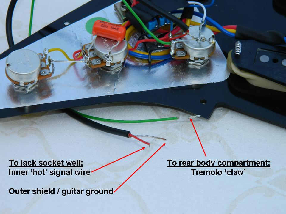 Gilmour scratchplate wiring