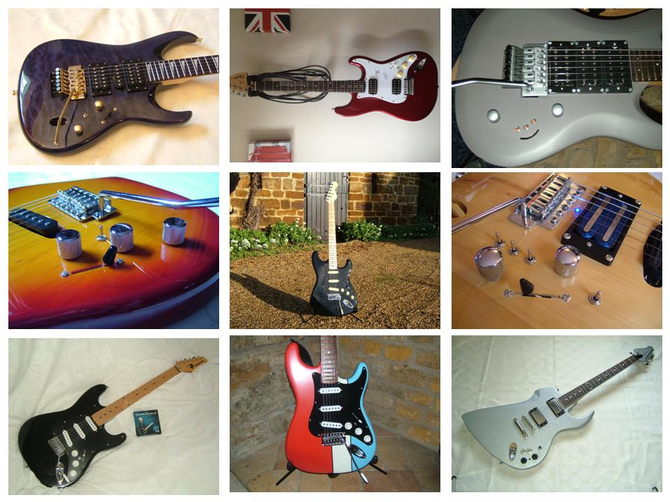 ronstone Pickups Custom Projects