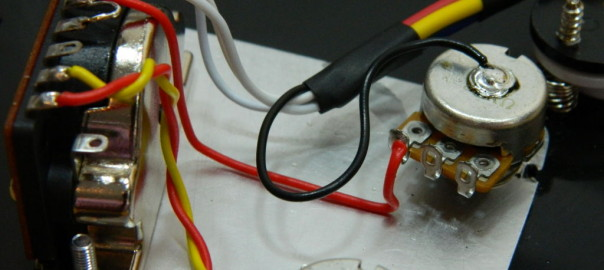 Ironstone Guitar Pickup Wiring