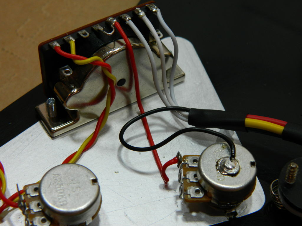 Ironstone Guitar Pickup Wiring