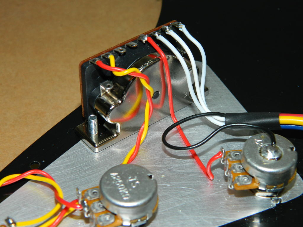 Stratocaster 5 way switch