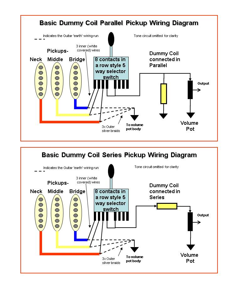 dummy coil wiring telecaster with dummy coil wiring diagram