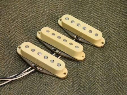 Ironstone Vintage Stratocaster Pickups Origin Alnico Mixed Magnet