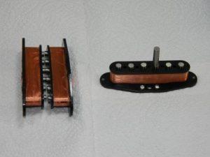 building single coil pickups; Hybrids part 1