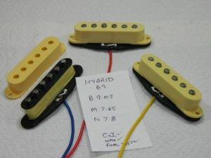 building single coil pickups; Hybrids part 2