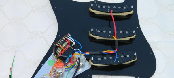 Stratocaster Scratchplate Pickguard Troubleshooting